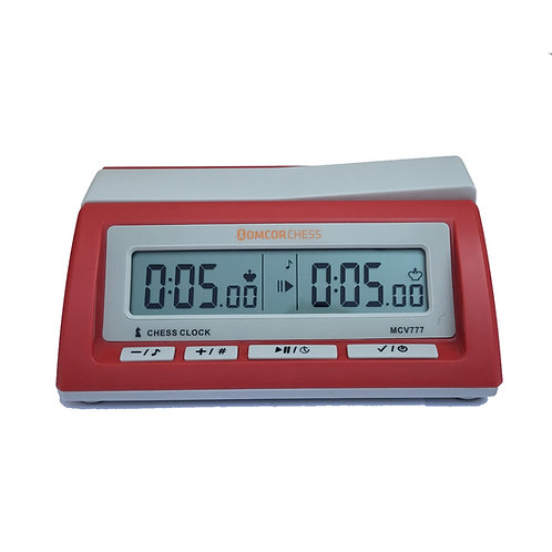 Reloj Electrónico de Ajedrez Chess Clock MCV777 Salmon