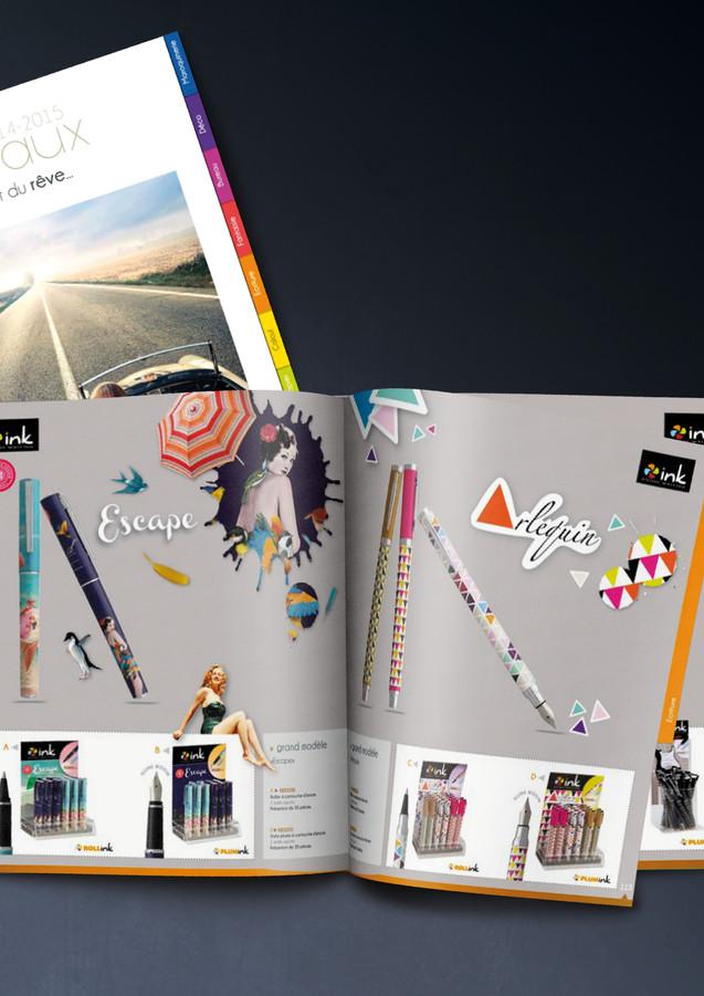 Catalogue cadeaux  réalisé pour la société Carpentras Sign 2014