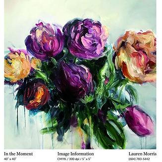 Lauren Morris-In The Moment-40%22x40%22.