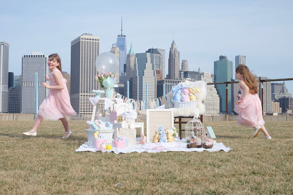 The Brooklyn Easter Celebration by Flying Little Birds