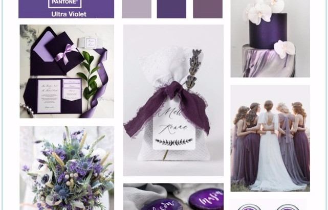 Inspiration Board based on Pantone's 2018 Color of The year: ULTRA VIOLET