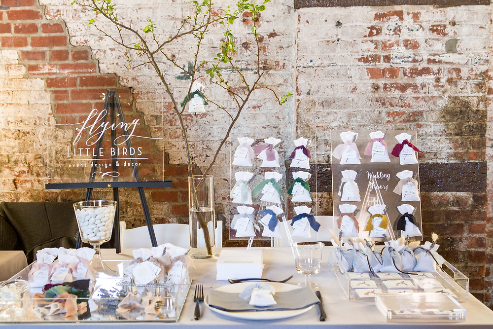 Handcrafted Wedding Favor by Flying Little Birds