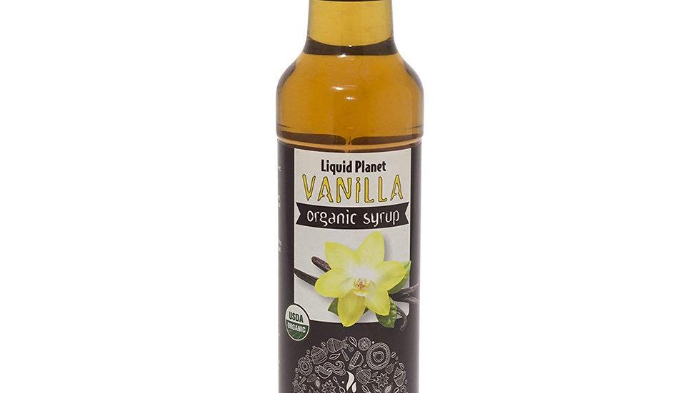 "Liquid Planet ""Organic"" Vanilla Syrup 24.4 fl oz"