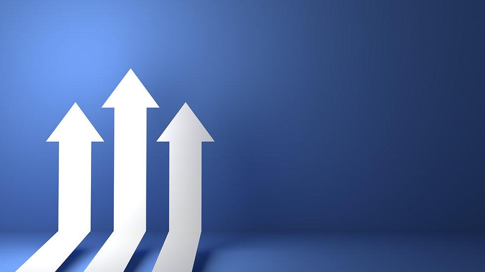 bigstock--D-Rendered-Business-Arrow-Up--