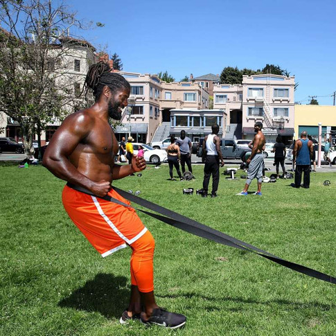 A new East Bay fitness community grows out of the crucible of the coronavirus, The San Francisco Chronicle