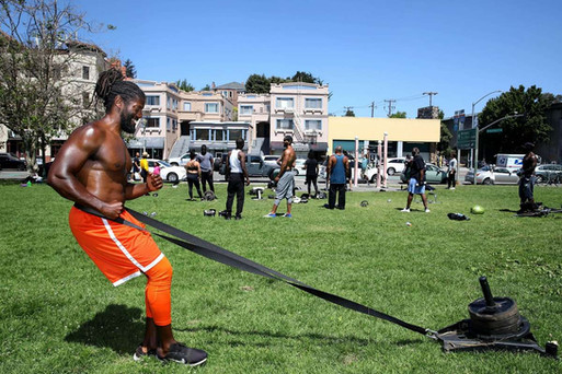 A new East Bay fitness community grows out of the crucible of the coronavirus