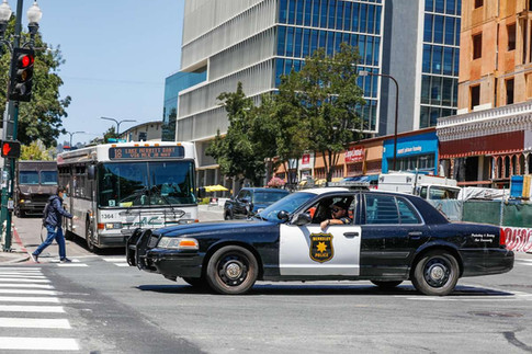 Traffic enforcement has long been a cop's job. Berkeley may soon go in another direction.