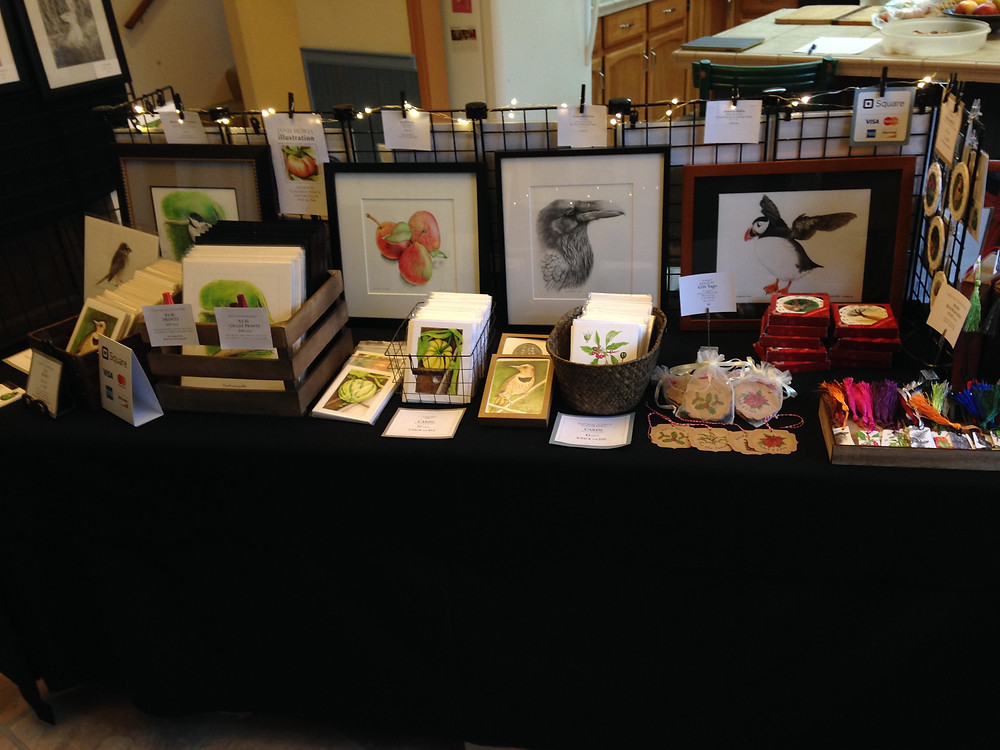 Lots of art for sale