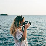 Séance photo en mer