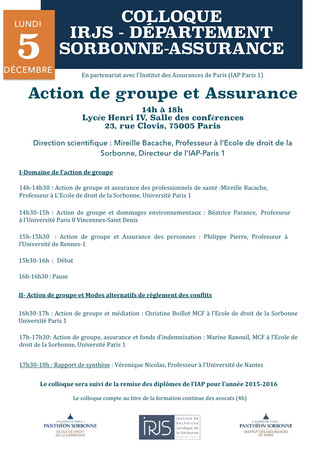 Colloque IAP