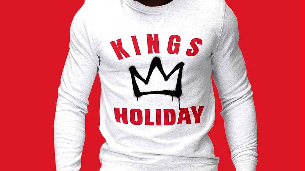 KINGS HOLIDAY HOLIDAY SWEATSHIRT