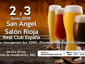 El festival de la cerveza Mx, está a punto de dar inicio.