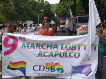 Así se vivió la Marcha LGBTTTI de Acapulco