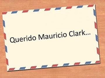 Carta a Mauricio Clark