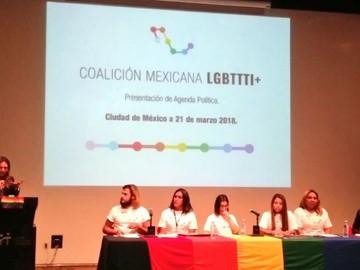 Se presento la Agenda Política de la coalición mexicana  LGBTTTI+