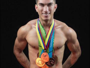 Medallista panamericano está orgulloso de ser Gay, y él es orgullo nacional