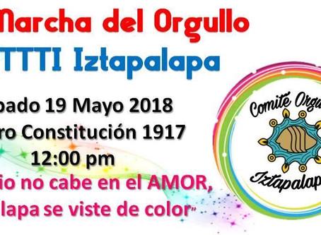 Conmemoración del Día Internacional de la Lucha Contra La homofobia CDMX