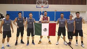 Plata para México en BasquetbolParis 2018