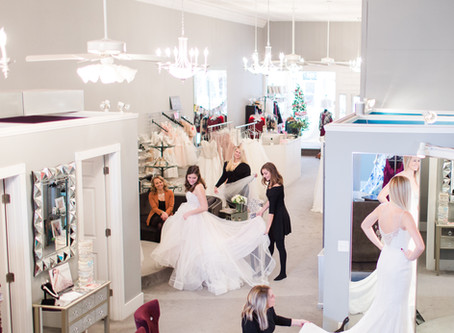 What To Expect At A Modern Dress Bridal Appointment