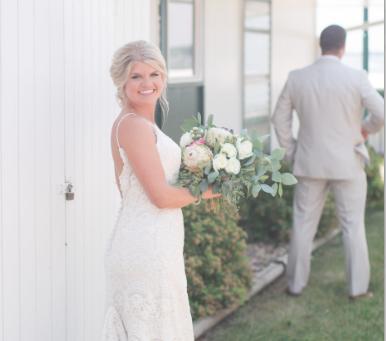 Modern Dress Bride: Tracie