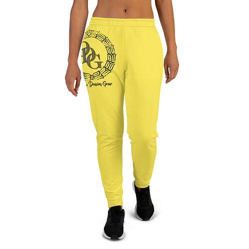 Women's ODG Sol Yellow Joggers