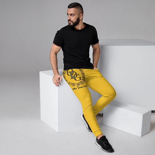 Men's Sol Yellow Joggers