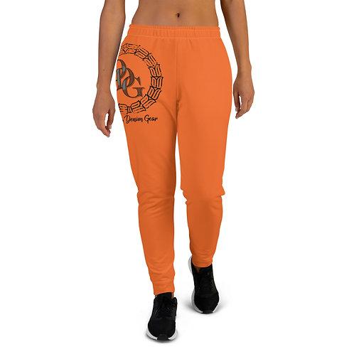 Women's ODG STATEMENT Orange Joggers
