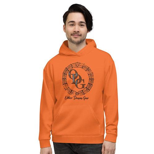 ODG STATEMENT Orange Unisex Hoodie