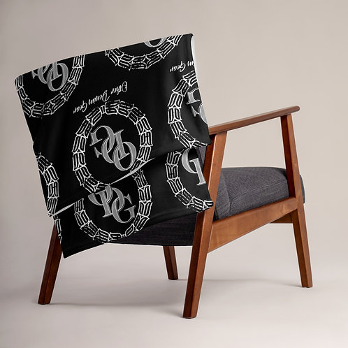 Black Throw Blanket