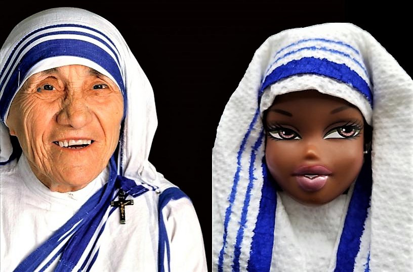 Mother Teresa and Ann Doll