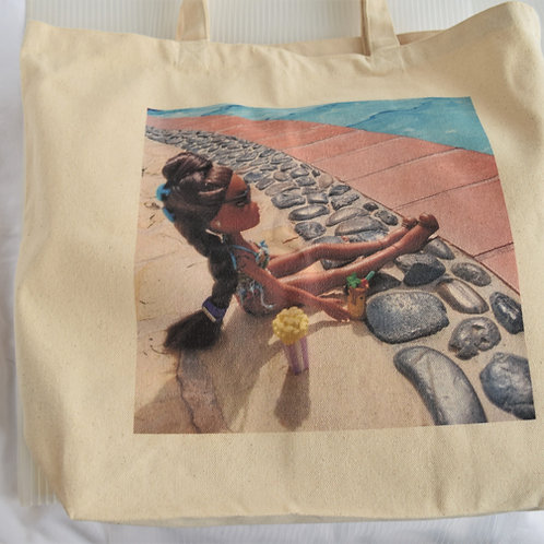 Live your Best Life Canvas Tote