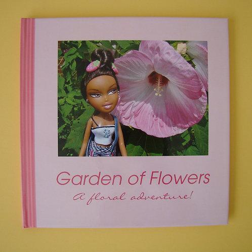 Garden of Flowers - Hardbound book