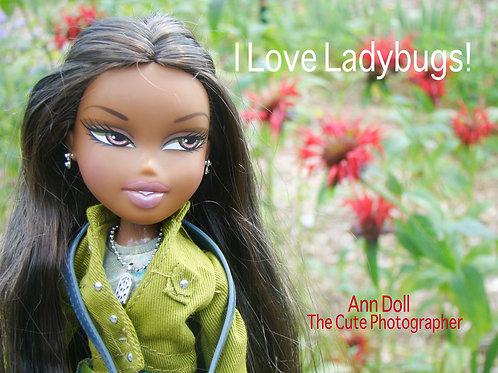 I Love Ladybugs! - 4 x 6 Print