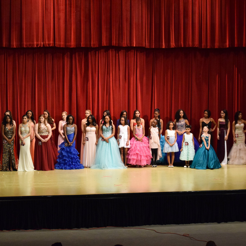 All the Pageant Participants. . .