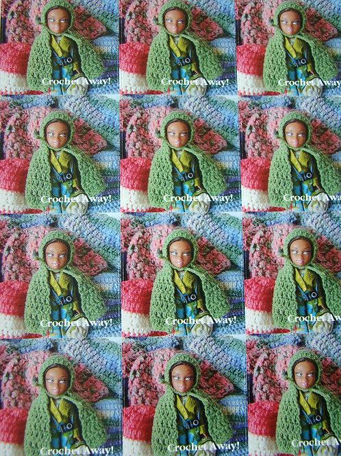 Crochet Away! - 12 Sticker Sheet