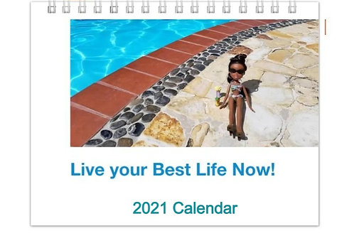 Live Your Best Life Now 2021 Calendar