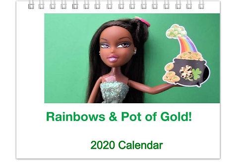 Rainbows & Pot of Gold! 2020 Calendar
