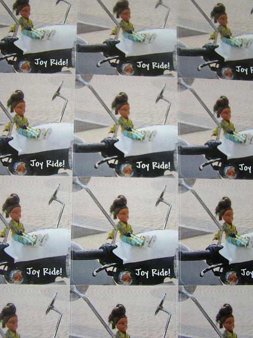 Joy Ride! - 12 Sticker Sheet