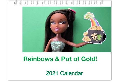 Rainbows & Pot of Gold! 2021 Calendar