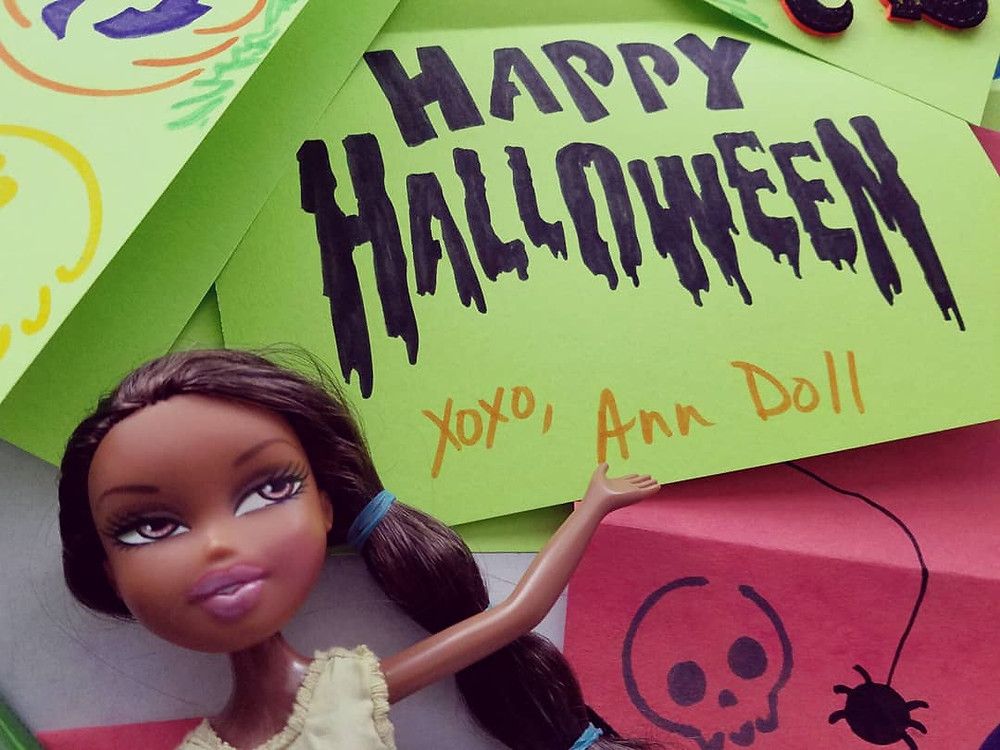 Happy Halloween from the desk of Ann Doll, The Cute Photographer