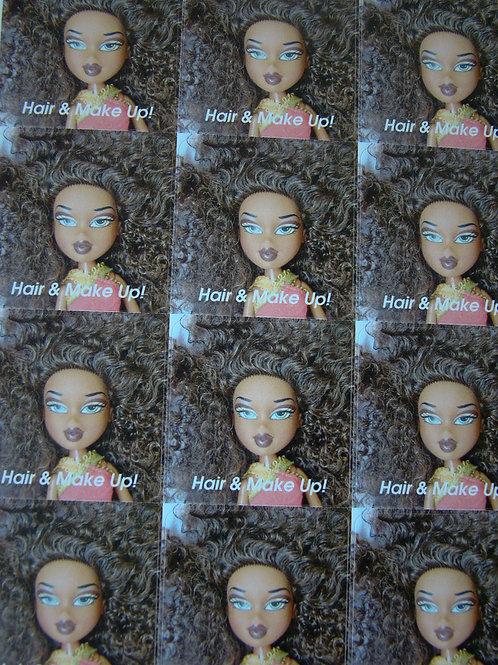 Hair and Make-Up! - 12 Sticker Sheet