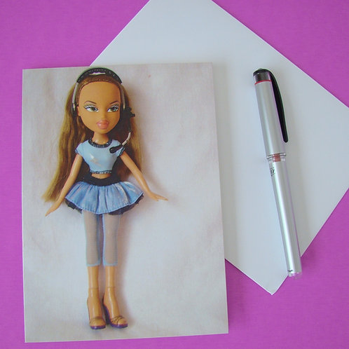 Barre3 Babe - Blank Notecard