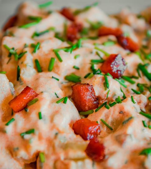 Spicy potetsalat