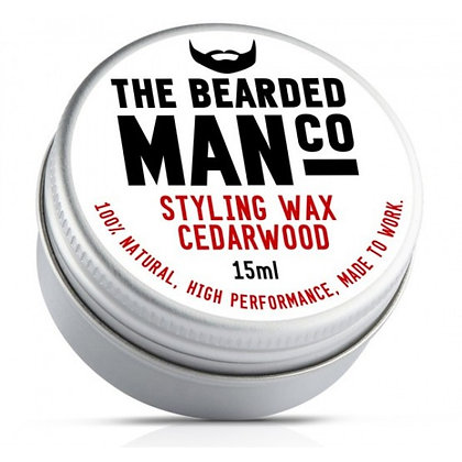 Bearded Man Cedarwood Wax - 15ml