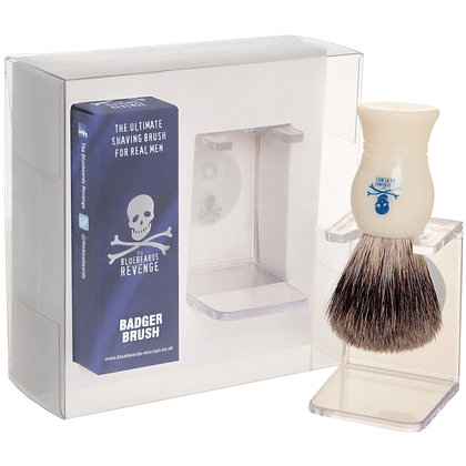 Bluebeards Revenge Brush and Stand Gift Set