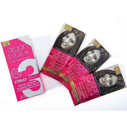 Argan Plus+ Masque Sachet 3 Pack