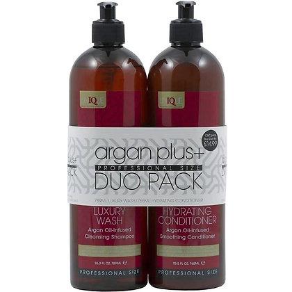 Argan Plus+ Shampoo and Conditioner Duo Pack - 789ml