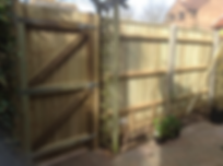 Stewart Bros Fencing, Gate made and installed in Bournemouth