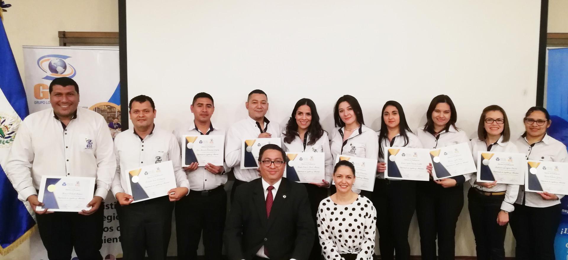 GRADUADOS DIPLOMADOS GLC 2019
