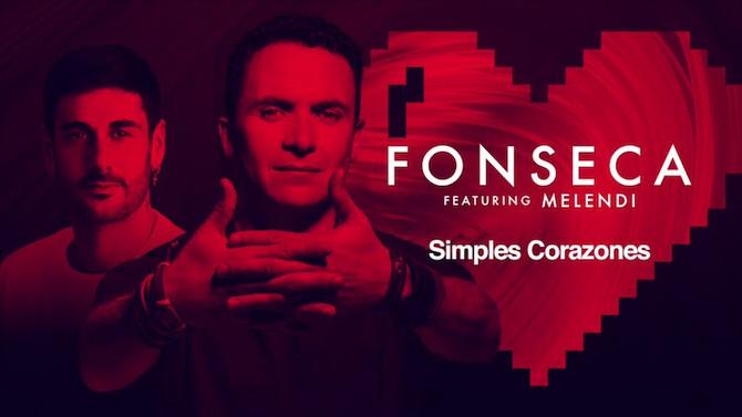 Fonseca renueva su sencillo 'Simples corazones' con un remix junto a Melendi